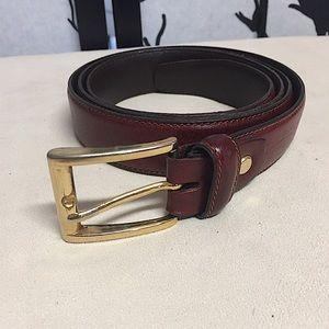 Vera Pelle Italian Leather Belt
